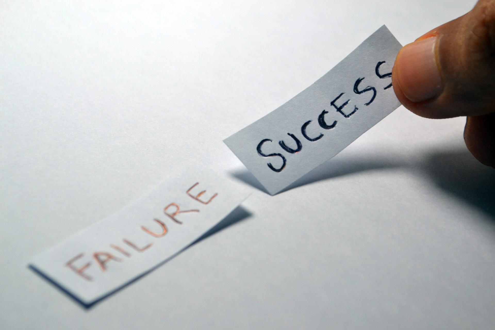 SUCCESSとFAILUREというタグ